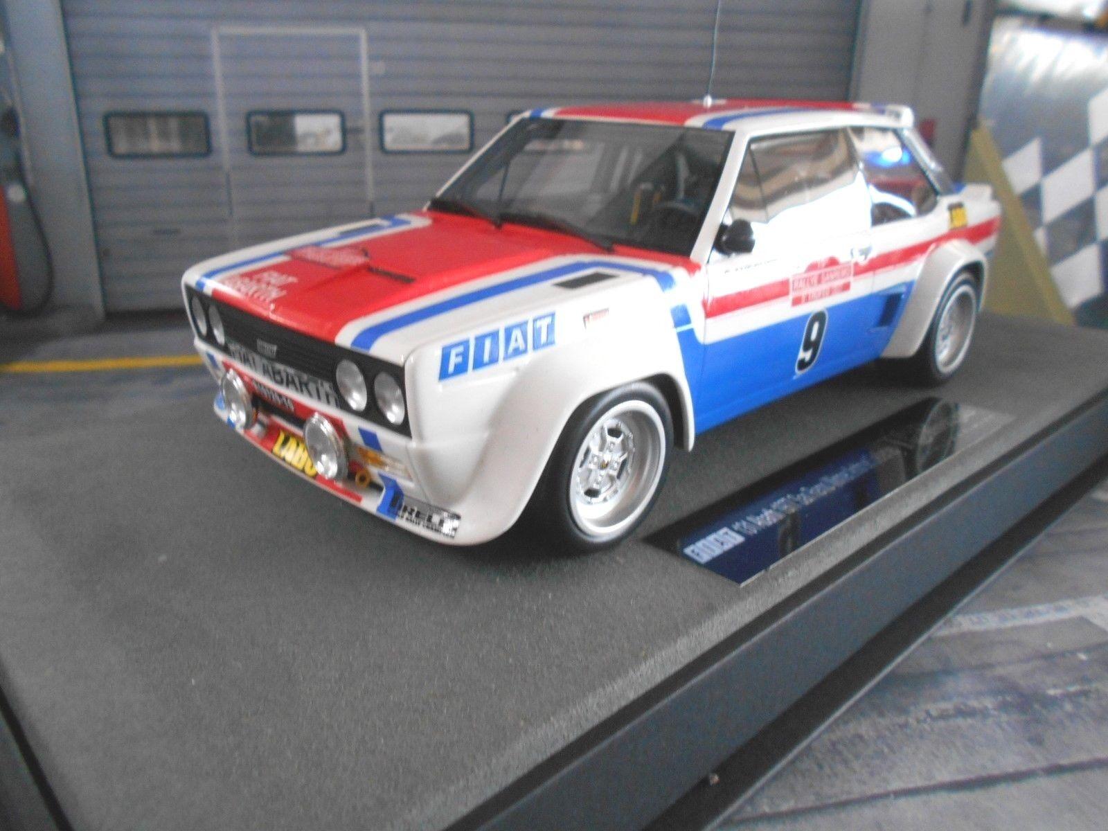 Fiat 131 Abarth Rallye San Remo 1977 Winner  9 Andruet vainqueur Top Marques 1 18