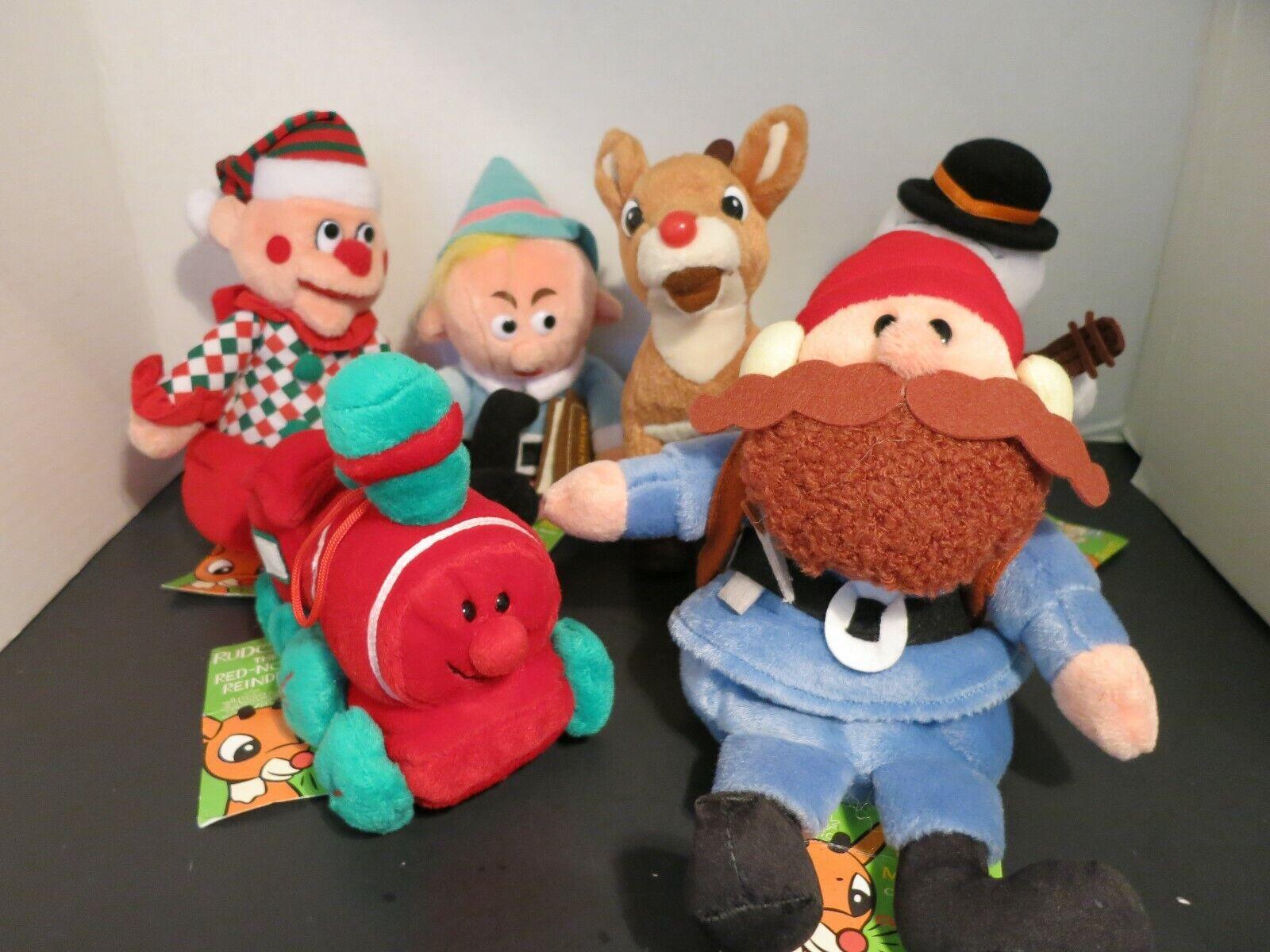Lot 6 NWT CVS Stuffins Rudolph Island Of Misfit Toys  Beanies 1998