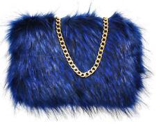 76d6c735893b item 1 Ladies Designer Fluffy Feather Clutch Faux Fur Bag Purse golden Chain  Runway New -Ladies Designer Fluffy Feather Clutch Faux Fur Bag Purse golden  ...