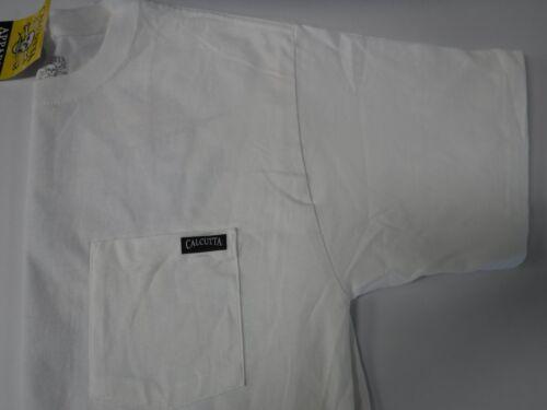 NEW Authentic Calcutta T-Shirt Grand Slam Large Short Sleeve White