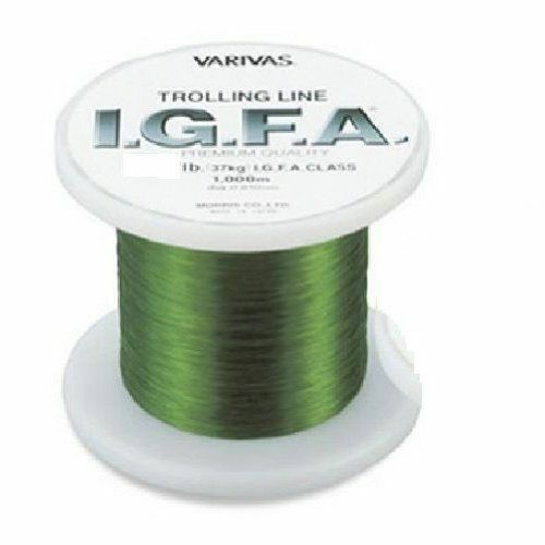MORRIS VARIVAS I.G.F.A. Trolling Nylon 600m 30lb Green  Fishing LINE