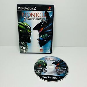 Bionicle Heroes Ps2  Video Game, Used! No Manual PlayStation Lego