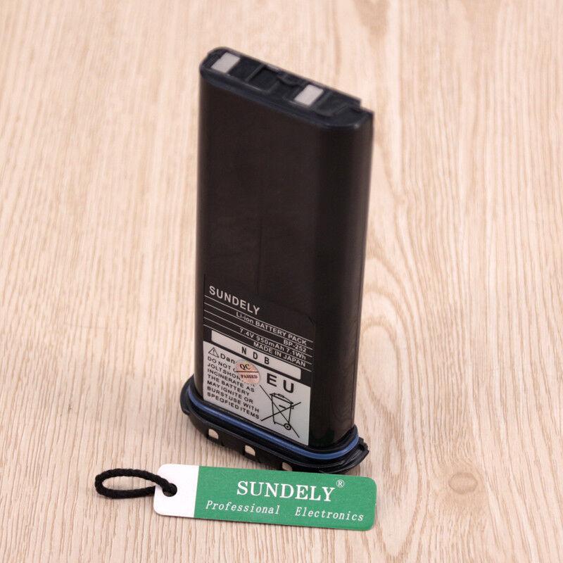 Bp252 Icom Bp252 Li-Ion Battery M34 M36 Replaces Bp241