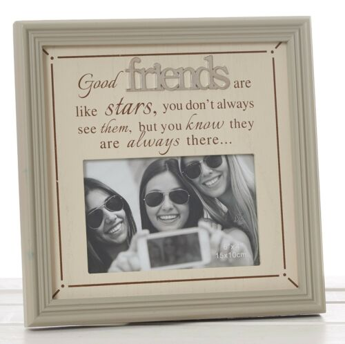 De belles phrases Cadre Photo-Friends 6x4/""