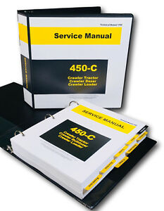 Details about SERVICE MANUAL FOR JOHN DEERE 450C CRAWLER BULLDOZER on
