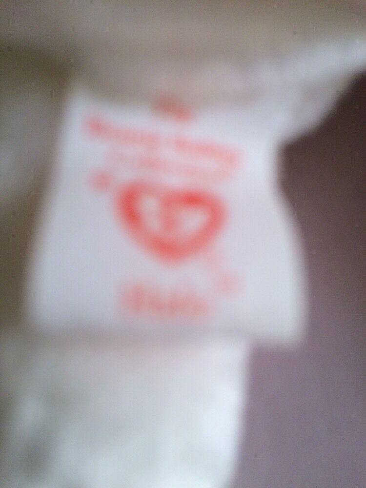 Ty BEANIE BABY  HALO  WITH TAG ERRORS ERRORS ERRORS 570858