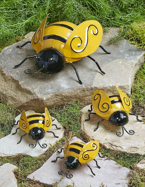 Metal Garden Ladybugs Or Bees Wall