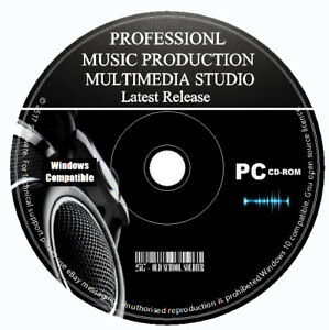 Pro-Music-Production-Studio-Multi-Track-Editing-Recording-Mixing-Software-PC-CD