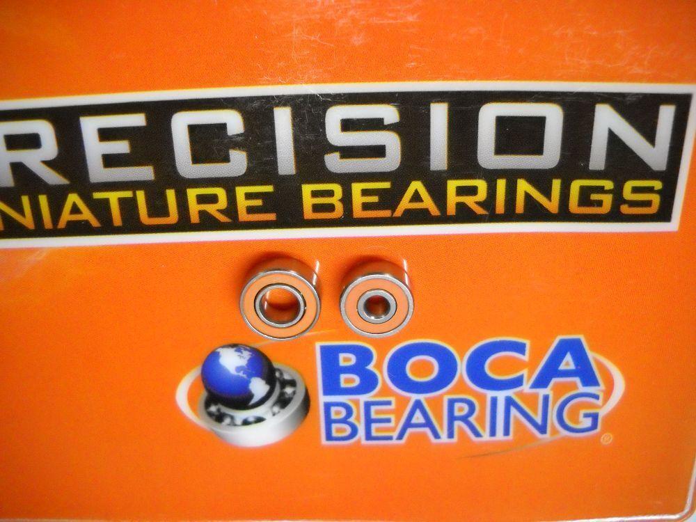 Boca orange Seal ABEC7 Bearings - Daiwa T3 1016H-TW 1016HL-TW 1016SH-TW 1016SHL