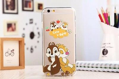 New Ultra Thin Cartoon Soft TPU Crystal Clear Case Cover for iPhone 5S 6 6Plus