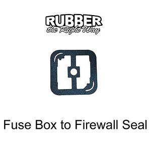 chevy camaro pontiac firebird fuse box to firewall seal image is loading 1970 1981 chevy camaro pontiac firebird fuse box