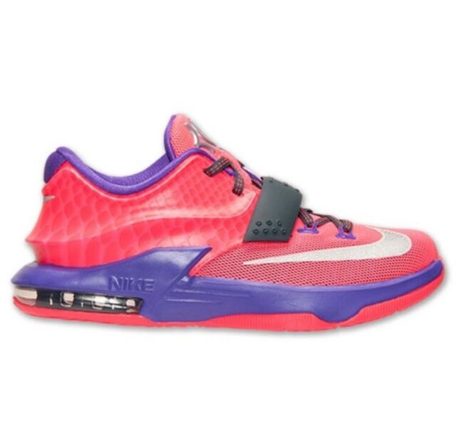 new products 1952d 48342 ... amazon nike kd vii 7 gs sz 4y hyper punch pink grape purple kevin  durant 669942
