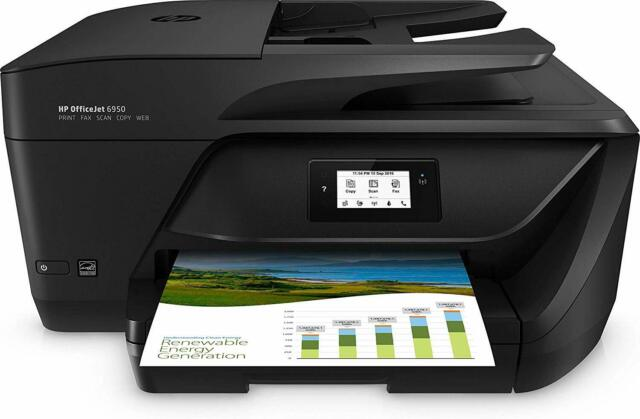 Stampante HP OfficeJet 6950 P4C85A Multifunzione a Getto di Inchiostro Wi-Fi