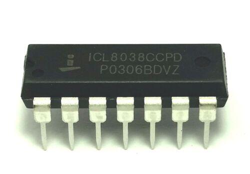 20PCS INTERSIL ICL8038CCPD ICL8038 Waveform Generator Oscill Gen DIP-14 IC New
