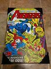 The Avengers (Captain America) Wall Plaque (Marvel Comic Print, 13