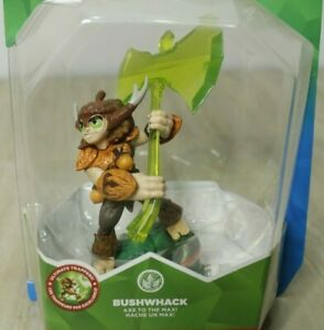Skylanders-Trap-Team-BUSHWHACK-with-Axe-Whacked-Life-ALL-PLATFORMS-New