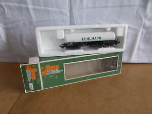 ancien-vintage-LIMA-HO-2905-Wagon-SNCF-citerne-KUHLMANN-avec-boite-70s