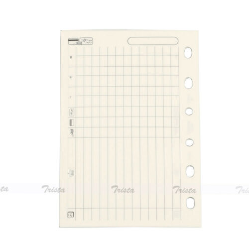 New Filofax Pocket Size Organiser Finances Diary Notepaper Refill Insert 210618