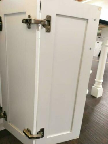 Lazy Susan Hinge Face Frame Plate For Door Connect Door Kitchen Cabinet Corner D