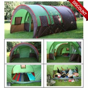 189 x122  8-10 Person Family C&ing Dome Tunnel Tents Waterproof Outdoor Large | eBay  sc 1 st  eBay & 189