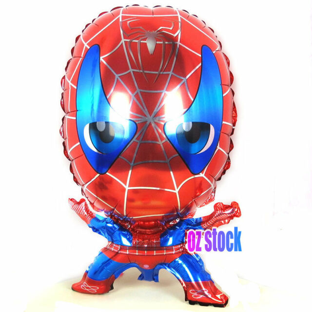 3x Large Spiderman balloon Foil Balloon Helium Balloon Happy Birthday Party Gift