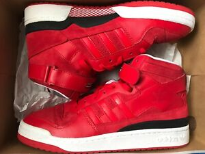 Adidas-Forum-Mid-x-NBA-Chicago-Bulls-UK10-5-Vvnds-Excellent-Condition