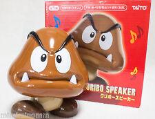 Super Mario Bros Wii Kuribo Goomba Figure USB/Battery Powered Speaker JAPAN NES