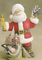 Ceramic Bisque Ready To Paint California Santa