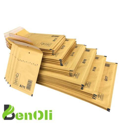 100 Luftpolstertaschen H18 premium 290x370mm H//8 Versandtaschen Gr.8 FSC® Braun
