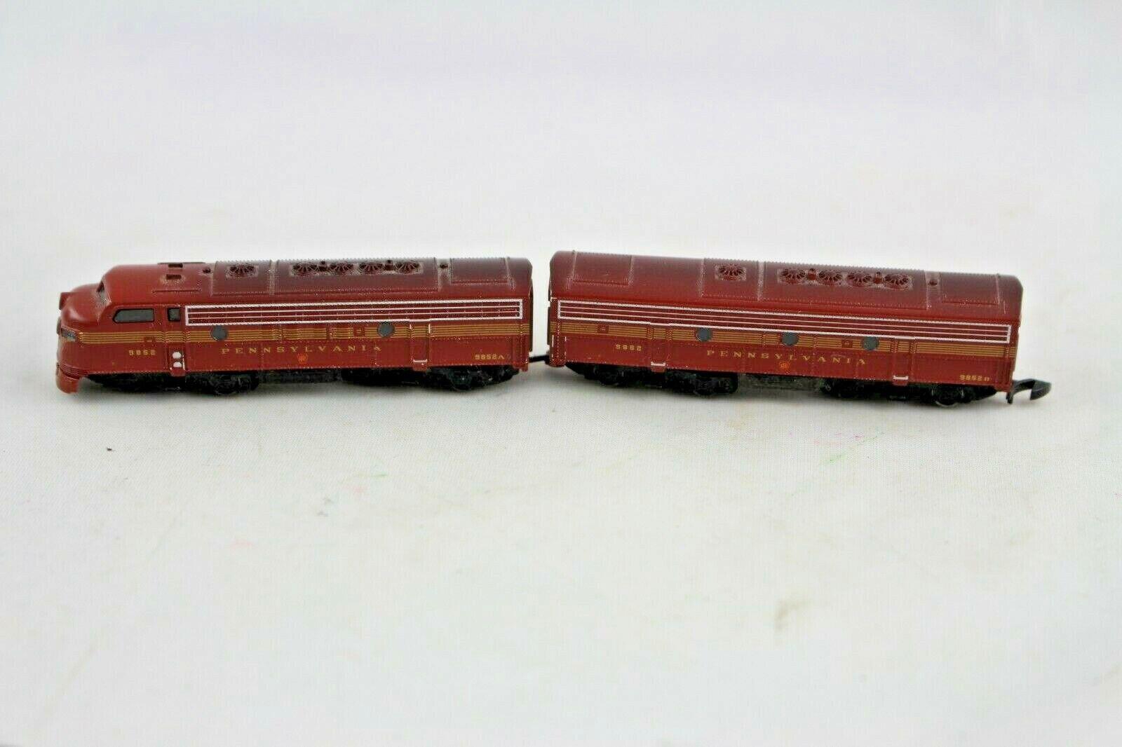 marca de lujo 88605 88605 88605 Estados Unidos diesel loco F7 Pennsylvania unidad doble marklin mini club pista Z + parte súperior +.  tiempo libre