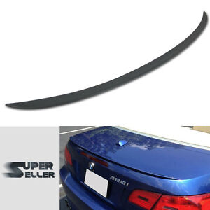 Fit For BMW E93 CONVERTIBLE REAR TRUNK BOOT SPOILER m TYPE 07 13 3-SERIES