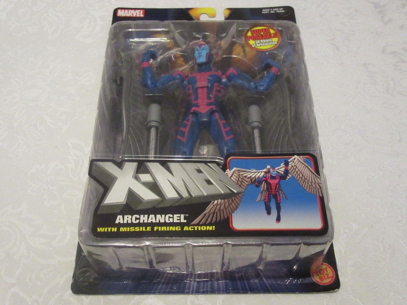 Toy Biz Marvel X-Men Classics Archangel Missle Firing Action Figure