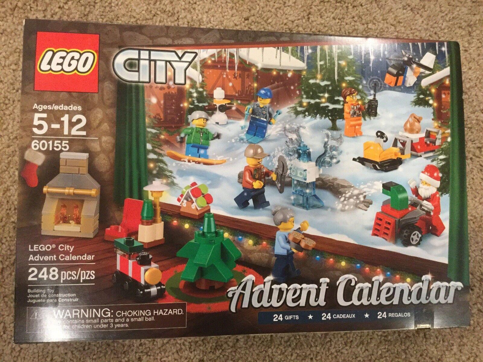 Lego City Advent Calendar New Sealed Christmas Box Box Box Building 60155 9df196