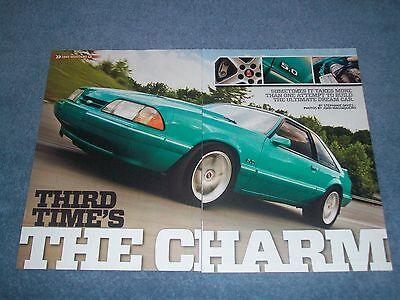 """1993 Ford Mustang Lx Hatch Artikel """" Third Time's The Charm """" FüR Schnellen Versand"""