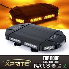 "Black Hawk 18"" Professional Amber LED Law Enforcement Roof Top Strobe Light Bar"
