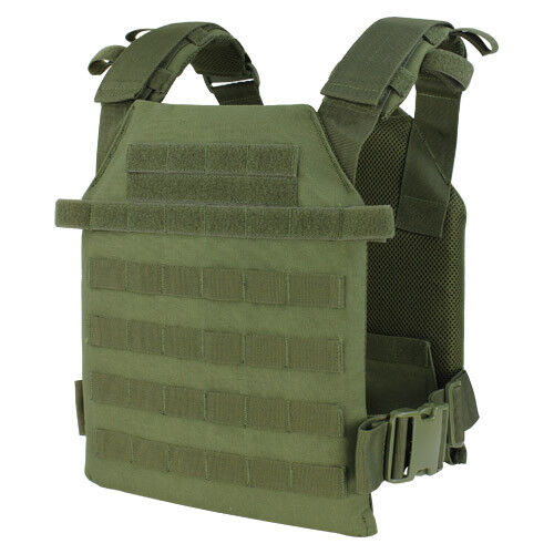 CONDOR SENTRY LEICHTE PLATE CARRIER AIRSOFT MILITARY COMBAT MOLLE WESTE OLIV