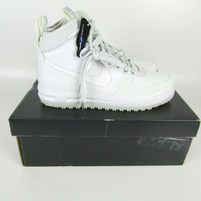 ef3c3ba961 Nike Lunar Force 1 Duckboot - Men's Shoes White/White 805899 101 for sale  online