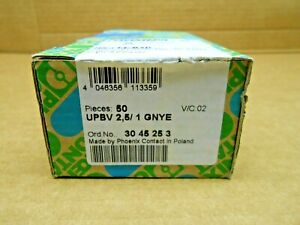 business use 50 NIB PHOENIX CONTACT 3045253 UPBV 2 5/ 1