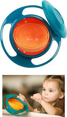 NEW Gyro Bowl Universal Baby Toddler Child No Spill Proof FREE Shipping!!!