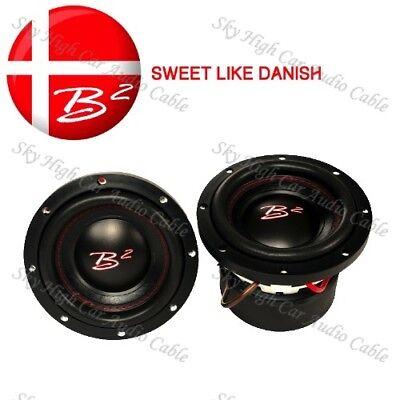 """B2 Audio HNX 6.5 D2  6.5/"""" High Note Subwoofer 300//600 Watt NEW HNX"""