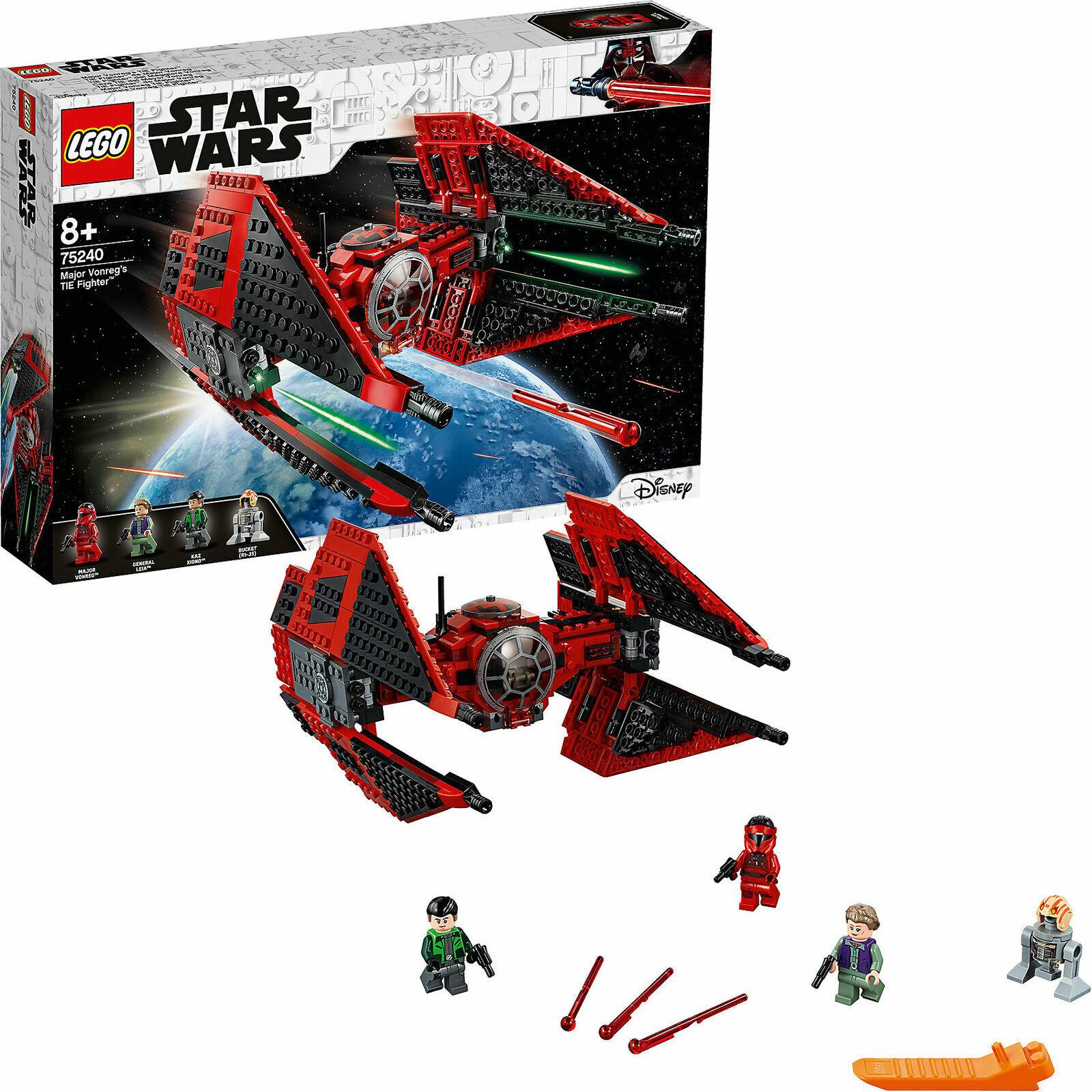 LEGO ® Star Wars ™ 75240-Major vonreg'S TIE FIGHTER ™ - 496 parti NUOVO & OVP
