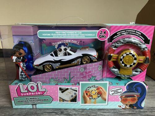L.O.L Surprise Rc Wheels com exclusivo J.K Boneca