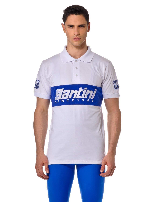 Santini  Polo shirt Cycling BNWT Größe XL 100% Genuine RARE NEW Eroica