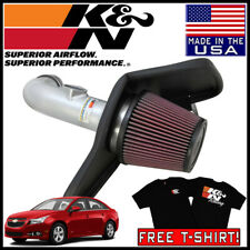 K/&N 69-4522TS COLD AIR INTAKE TYPHOON FOR 2011-2014 CHEVROLET CRUZE L4 1.8L