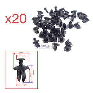 20x-tronco-Forro-Retenedor-Clip-Sujetador-91550sh3003-Para-Honda-Civic-Accord