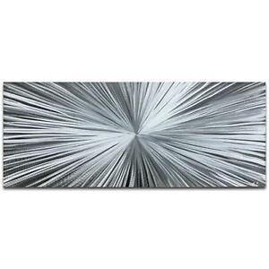 Original-Abstract-Art-Metallic-Starburst-Piece-Contemporary-Wall-Decor