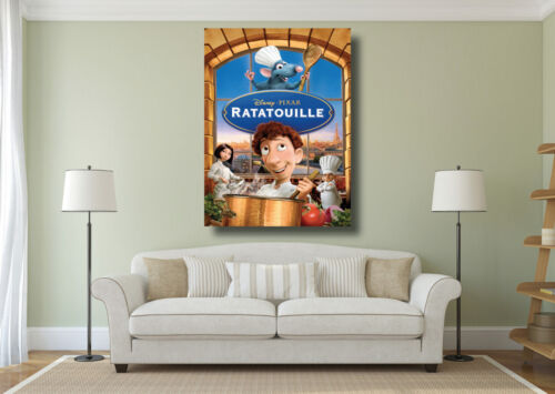 A0 A1 A2 Ratatouille Kids Bedroom Movie Poster Large Wall Art Print