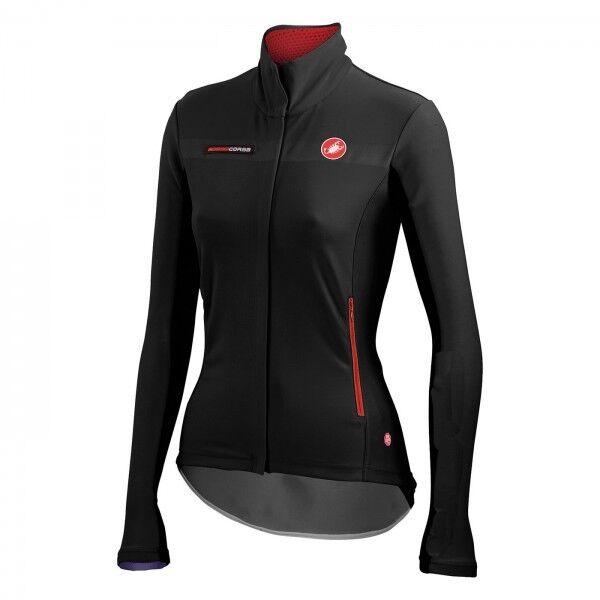 Castelli Gabba W W W Long Sleeve Windstopper® Fahrrad-Damentrikot wasserfest 4514557 f9d40e