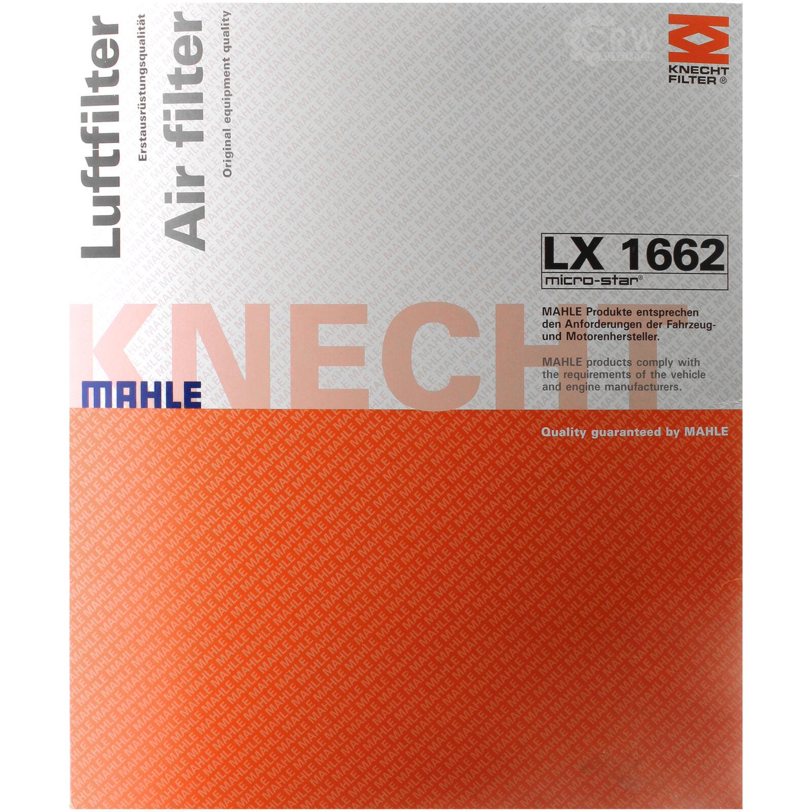 Luftfilter MAHLE KNECHT LX 1662