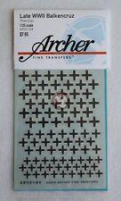 Archer 1/35 Balkenkreuz (Iron Cross) Late German Armor WWII (3 sizes) AR35104